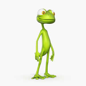 lizard kevin 3d model