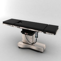3d surgical table model