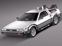 Delorean Back to the Future episode 1