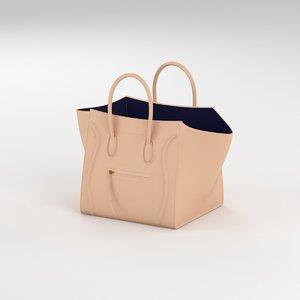 3ds max luggage phantom bag 2