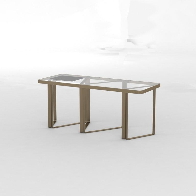 3d table fendi model