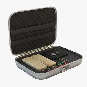 max briefcase c4 explosives