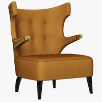 brabbu sika armchair 3d max