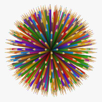 obj pencil ball