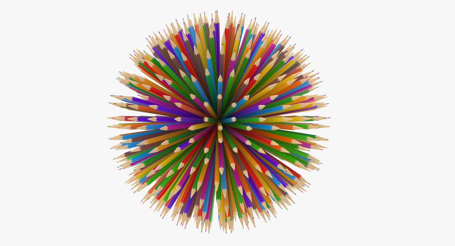 obj pencil ball