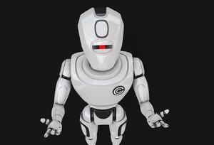 3d model robot concept