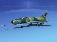 3ds mig-21 fishbed jet fighter