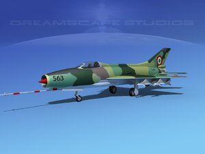 3ds mig-21 fishbed jet fighter