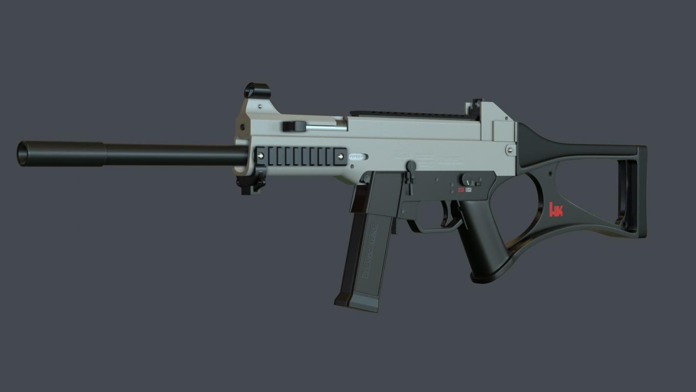 usc carbine 3d model