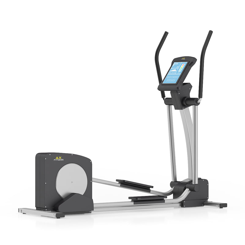 3ds max elliptical trainer