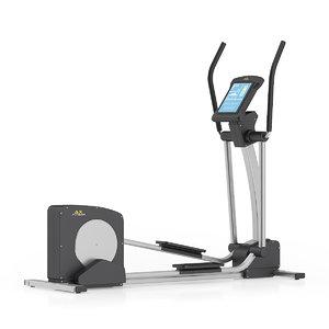 3ds max elliptical trainer