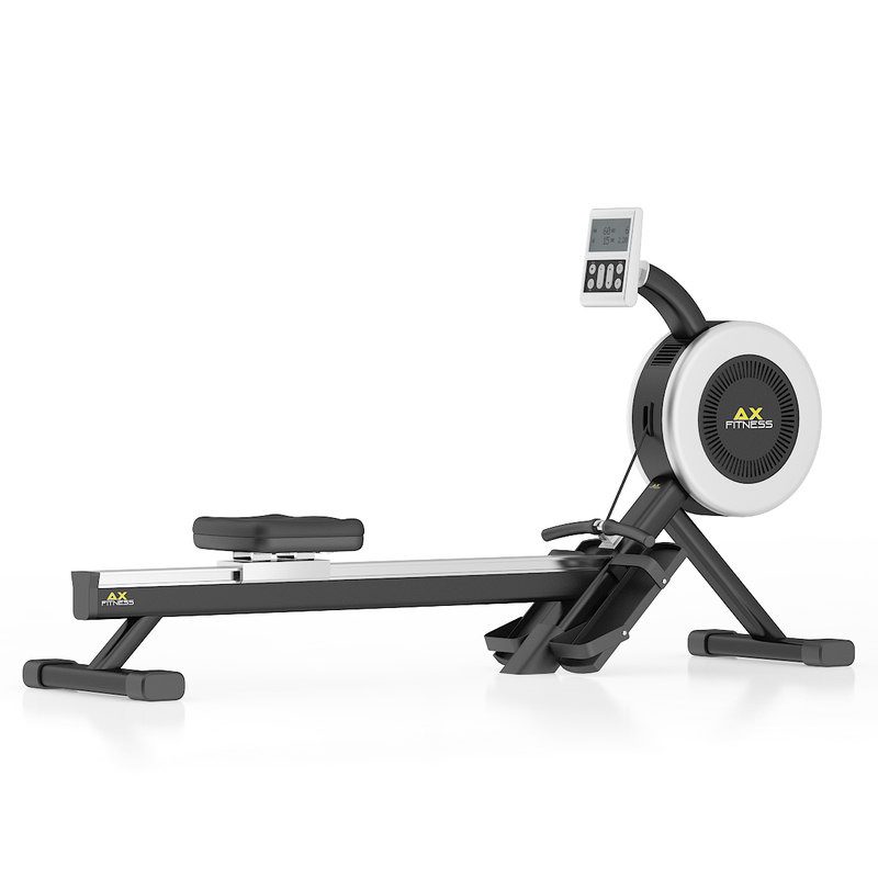 black rowing machine c4d