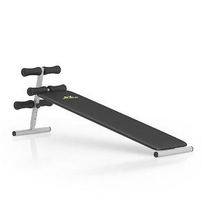 c4d black abdominal bench