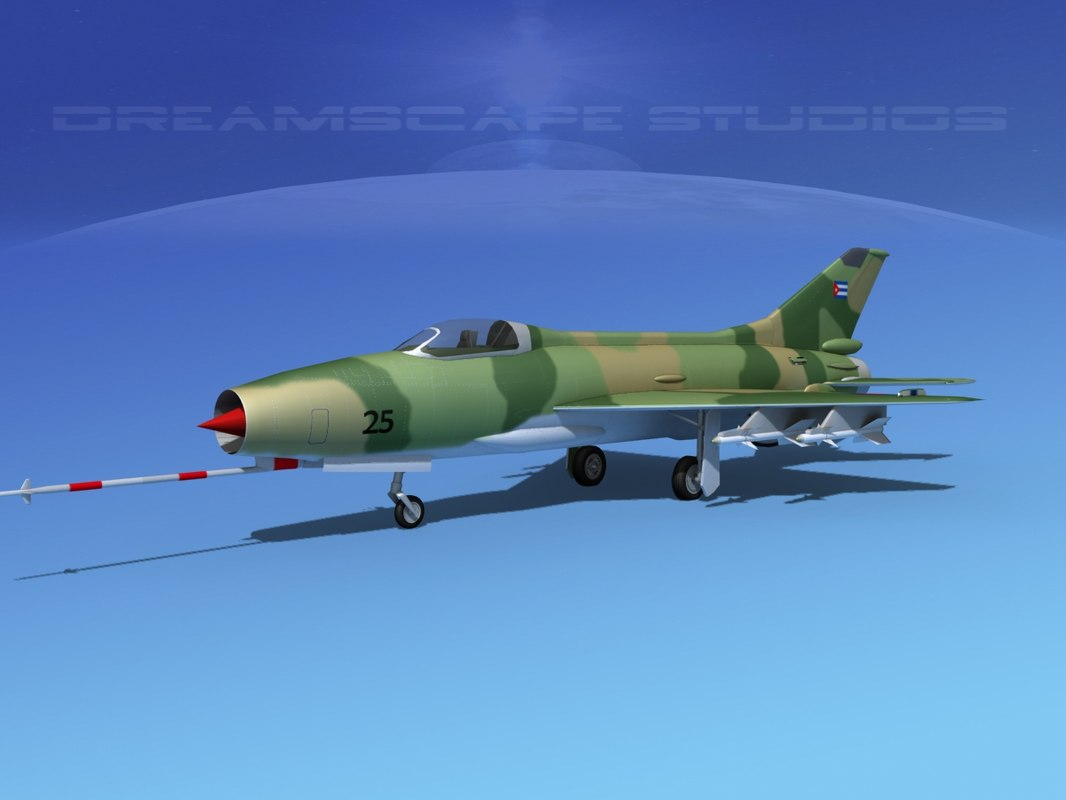 dwg mig-21 fishbed jet fighter