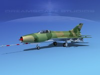 dwg mig-21 fishbed jet fighter