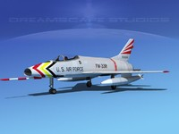 super sabre north american 3d max