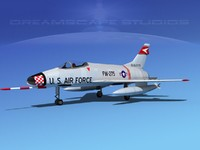 3d super sabre north american