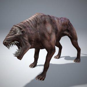 3d infernal dog