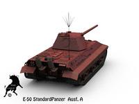e-50 german tank ausf 3d max
