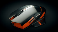 wireless gaming mouse 3d c4d