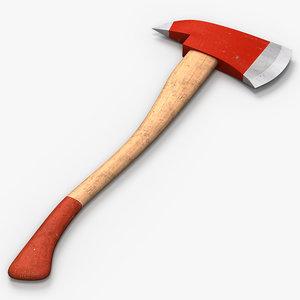 ax axe firefighter 3ds