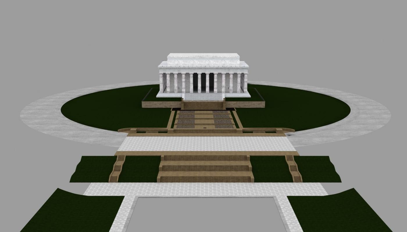3d model memorial american