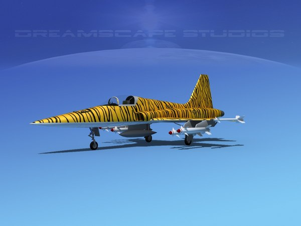 3d f-5 fighter northrop