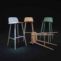 3d nerd-bar-stool