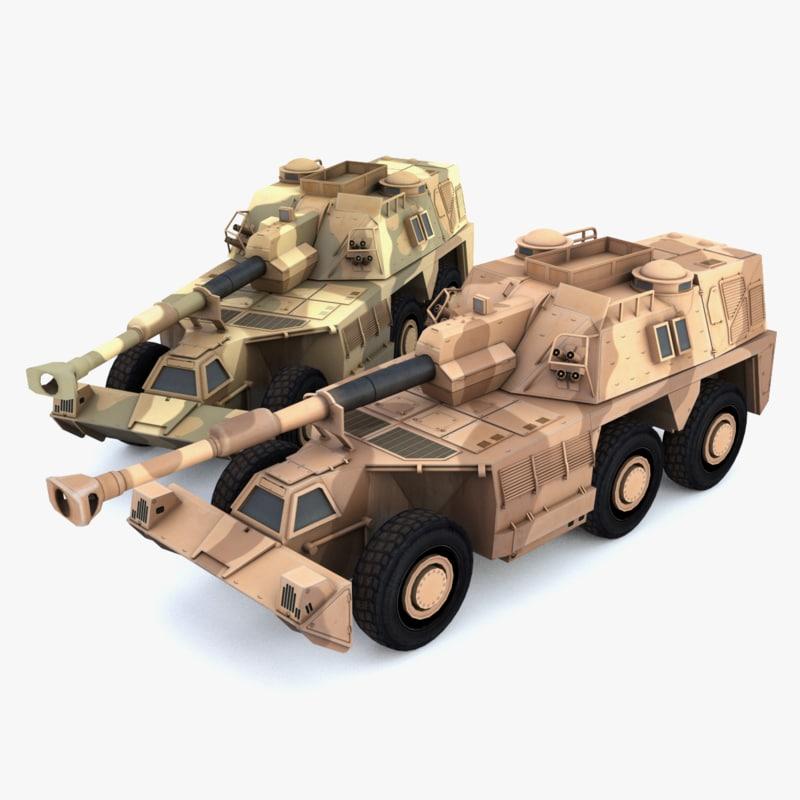 3d g6 rhino howitzer