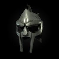 gladiator helm 3d model