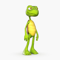 3d model turtle mateo