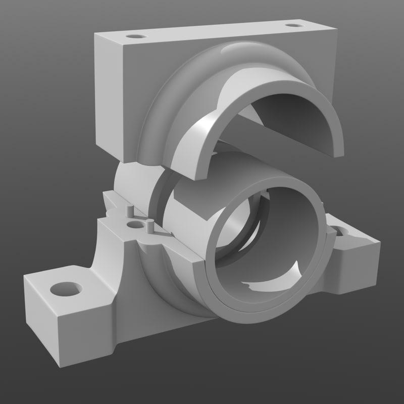 bearings block obj