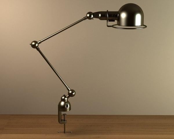 task lamp 008 3d model