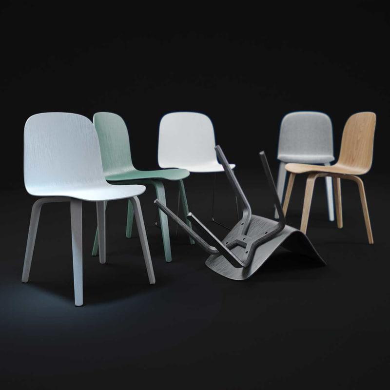 3dsmax visu-chairs