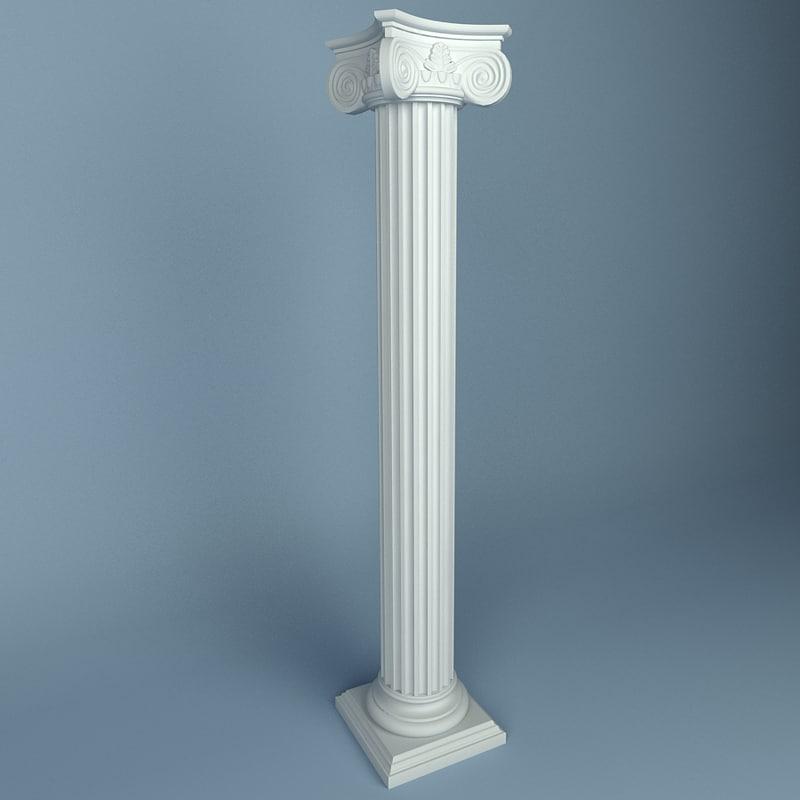 3d peterhof column 15