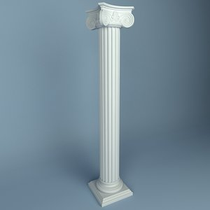 3d peterhof column 15