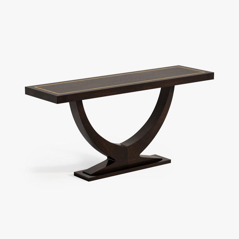 eichholtz console table ungaro 3d obj
