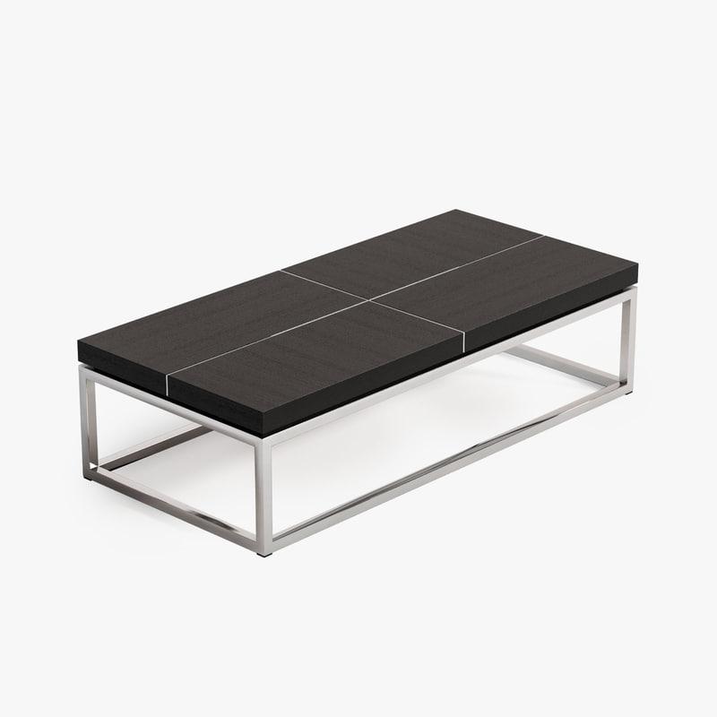 3d model eichholtz coffee table magnum