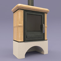 fireplace abx bavaria l 3d model