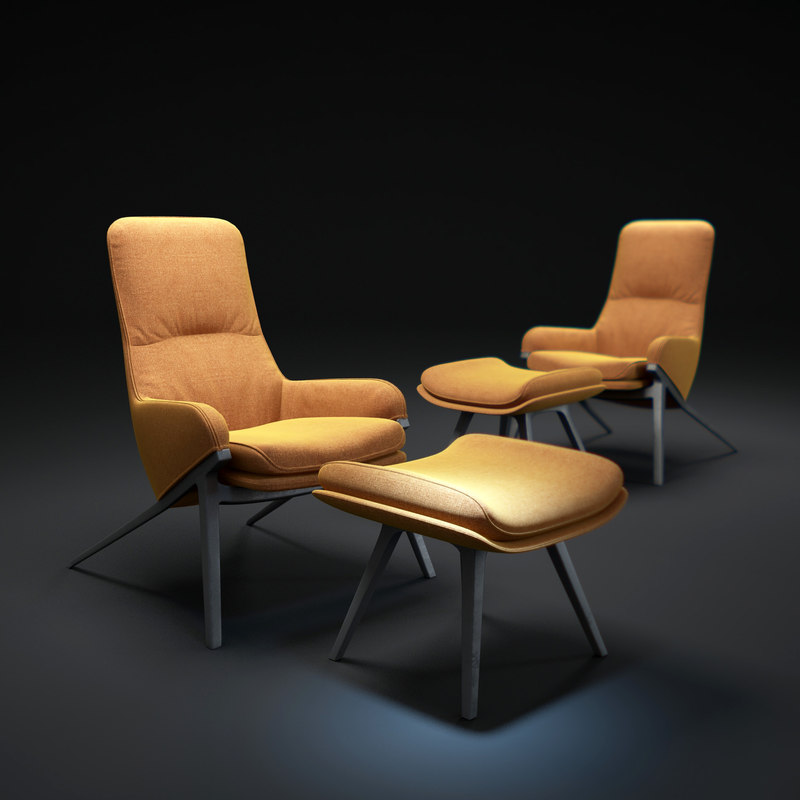 396-p22-armchair 3d max