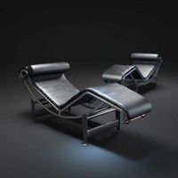 3dsmax lc4-lounge-chair