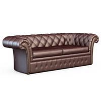 3d sofa baxter casper model