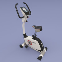 3d model exercycle kettler giro-m 1