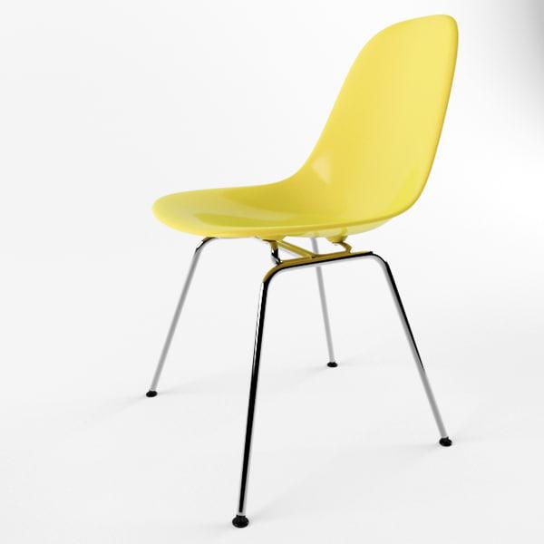 eames plastic chair x