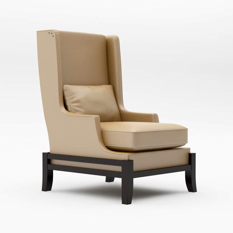 chair cradle 3d model