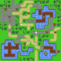 Pixelart map