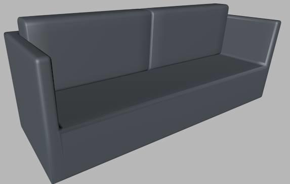 c4d sofa