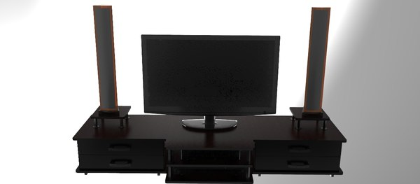 3ds max tv table