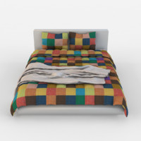 children bed 3d obj