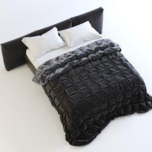 bed boconcept lugano max